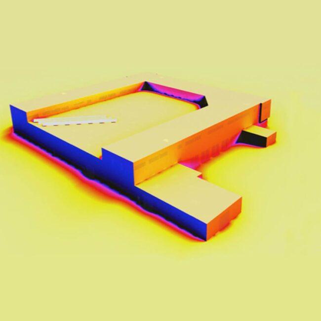 Visualisierung einer Gebäudesimulation